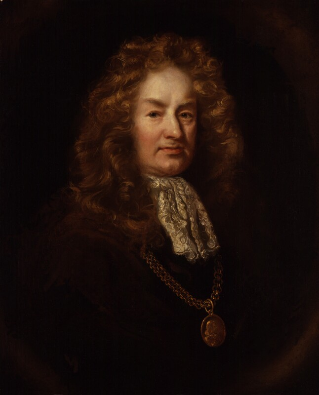 Elias Ashmole, after John Riley, based on a work of 1687-1689 - NPG 1602 - © National Portrait Gallery, London