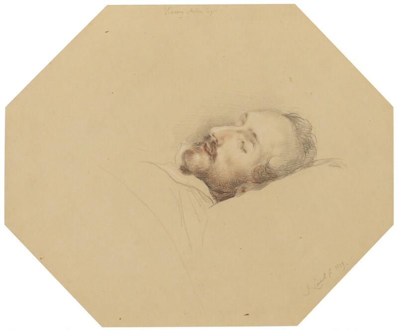 Harvey Aston, by John Linnell, 1839 - NPG 1818b - © National Portrait Gallery, London