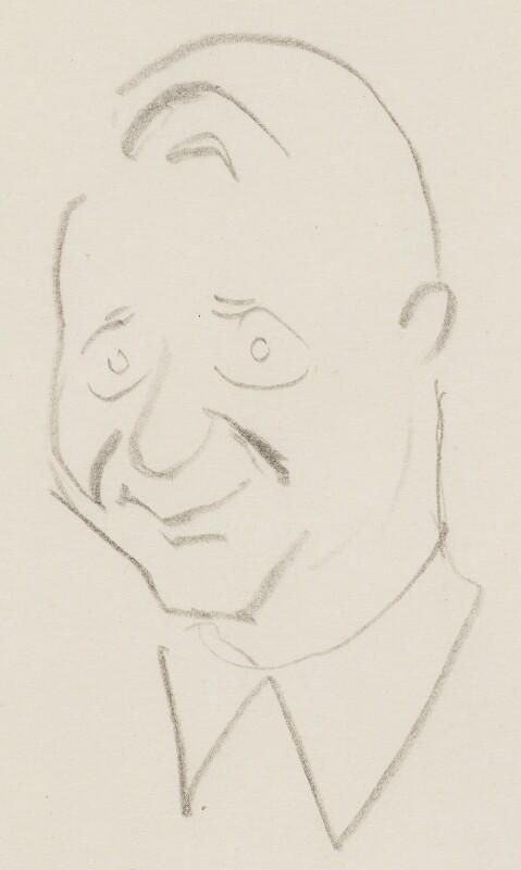 (Francis) David Langhorne Astor, by Sir David Low, 1950s? - NPG 4529(4) - © Solo Syndication Ltd