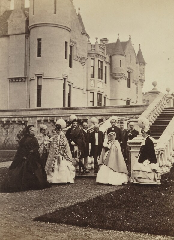Group of eleven, including the Duchess of Atholl, by W. & D. Downey, 1868 - NPG P22(24) - © National Portrait Gallery, London