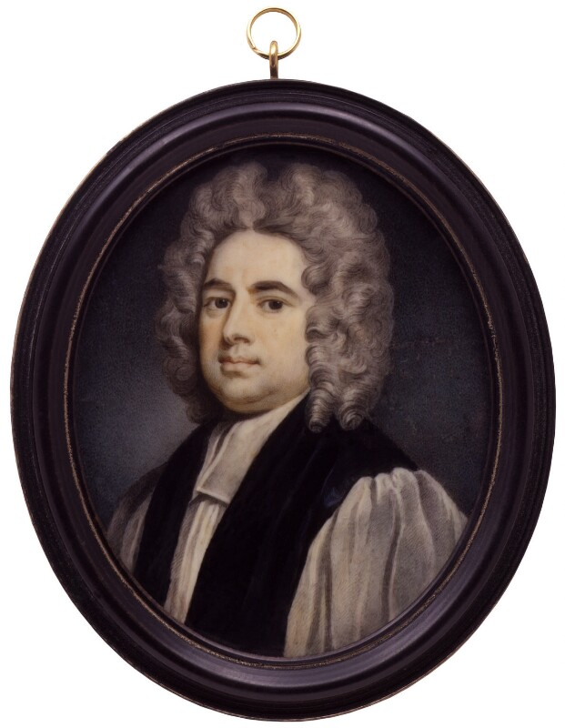 Francis Atterbury, after Sir Godfrey Kneller, Bt, 1718-1750, based on a work of 1718 - NPG 2024a - © National Portrait Gallery, London