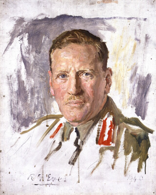 Sir Claude Auchinleck, by Reginald Grenville Eves, 1940 - NPG 4639 - © National Portrait Gallery, London