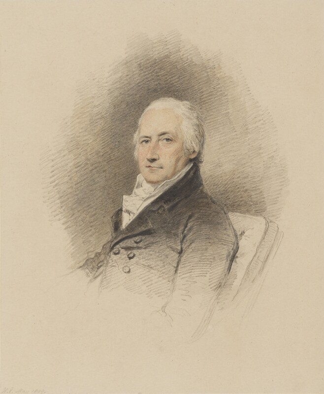 William Eden, 1st Baron Auckland, by Henry Edridge, 1809 - NPG 122 - © National Portrait Gallery, London