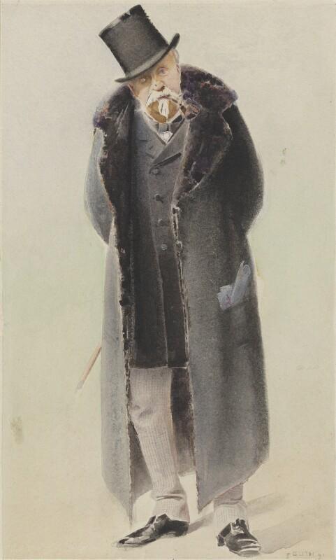 Henri Eugène Philippe Louis d'Orléans, duc d'Aumale, by Jean Baptiste Guth ('GUTH'), 1891 - NPG 4707(3) - © National Portrait Gallery, London