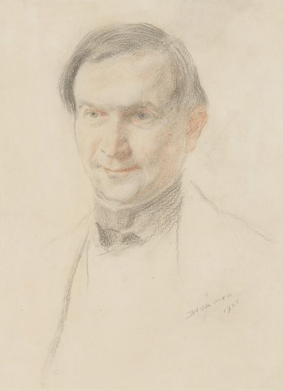 Stacy Aumonier, by Emanuel Henry Horwitz, 1926 - NPG 2777 - © National Portrait Gallery, London