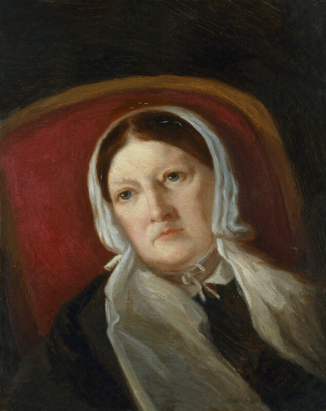 Sarah Austin (née Taylor), by Lady Arthur Russell, circa 1867 - NPG 598 - © National Portrait Gallery, London
