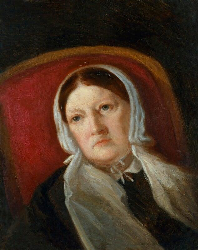 Sarah Austin (née Taylor), by Lady Arthur Russell, circa 1867 - NPG 598 - © National Portrait Gallery, London