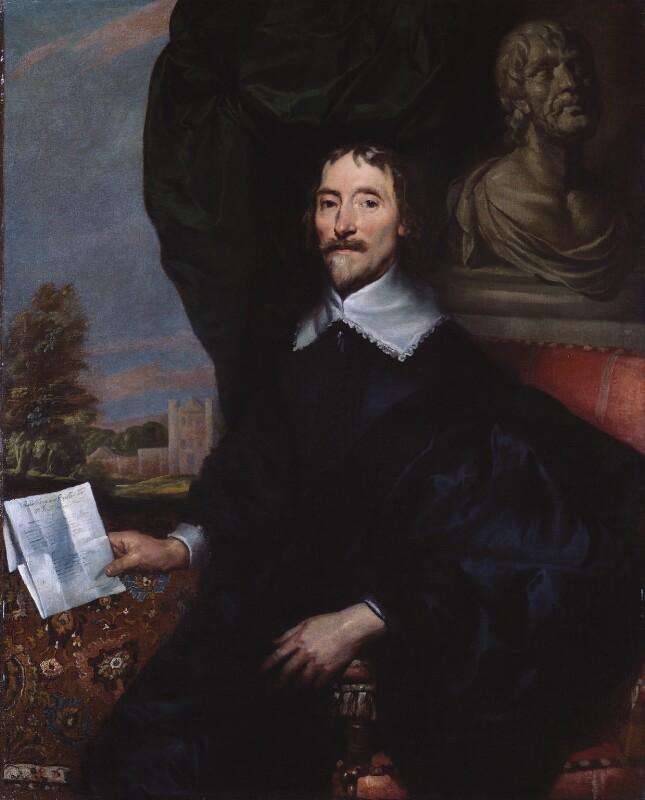 Probably Sir Thomas Aylesbury, Bt, by William Dobson, circa 1642 - NPG 615 - © National Portrait Gallery, London