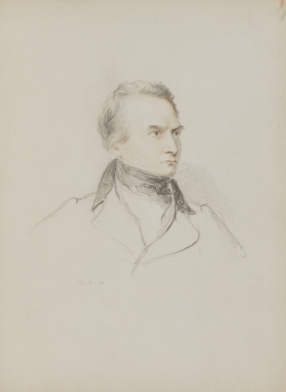 Charles Babbage, by William Brockedon, 1840 - NPG 2515(33) - © National Portrait Gallery, London