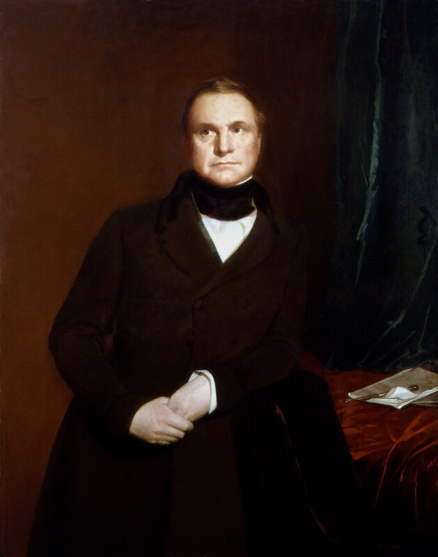 Charles Babbage, by Samuel Laurence, 1845 -NPG 414 - © National Portrait Gallery, London
