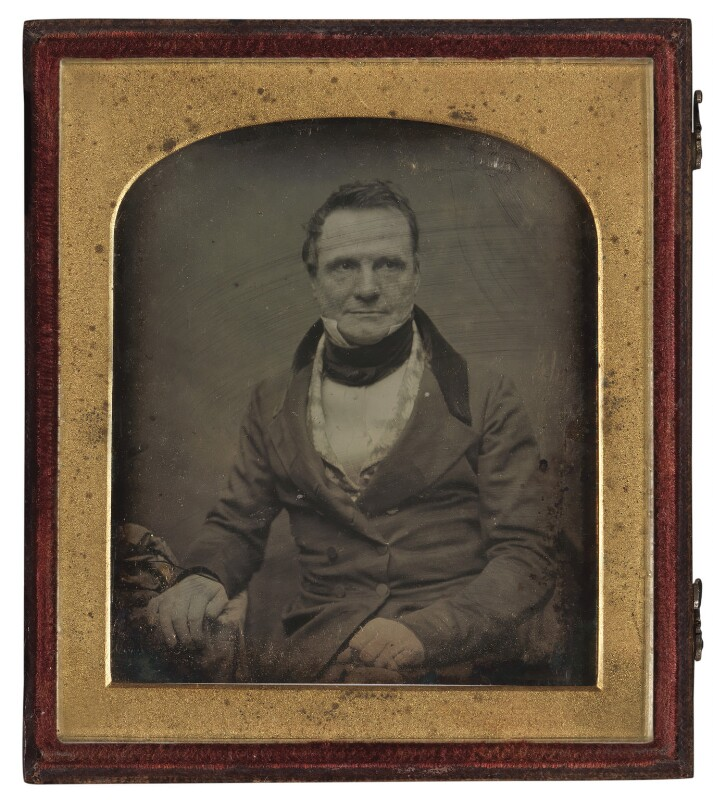 Charles Babbage, by Antoine Claudet, circa 1847-1851 - NPG P28 - © National Portrait Gallery, London