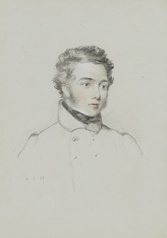 Sir George Back, by William Brockedon, 1833 - NPG 2515(46) - © National Portrait Gallery, London