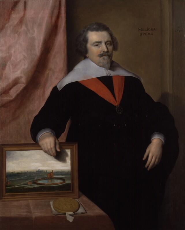 Sir John Backhouse, by 'VM', 1637 - NPG 2183 - © National Portrait Gallery, London