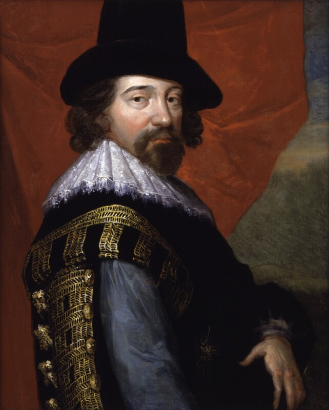 Francis Bacon, 1st Viscount St Alban, by John Vanderbank, after  Unknown artist, 1731?, based on a work of circa 1618 - NPG 520 - © National Portrait Gallery, London
