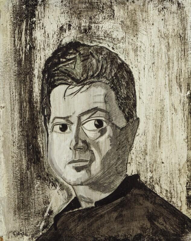 Francis Bacon, by Reginald Gray, 1960 - NPG 5135 - © National Portrait Gallery, London