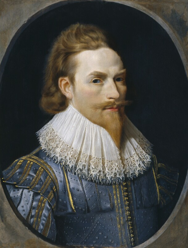Sir Nathaniel Bacon, by Sir Nathaniel Bacon, circa 1625 - NPG 2142 - © National Portrait Gallery, London