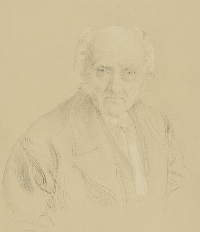 Samuel Bagster the Elder, by John Linnell, circa 1852 - NPG 1816 - © National Portrait Gallery, London