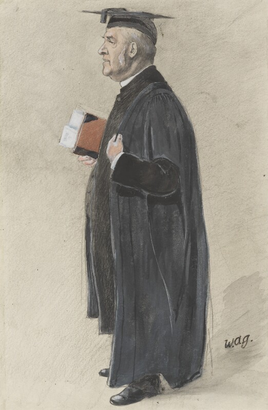 William Baker, by Arthur George Witherby ('Wag'), published in Vanity Fair 21 March 1901 - NPG 3300 - © National Portrait Gallery, London