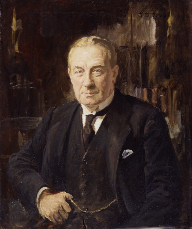 Stanley Baldwin, 1st Earl Baldwin, by Reginald Grenville Eves, circa 1933 - NPG 3551 - © National Portrait Gallery, London