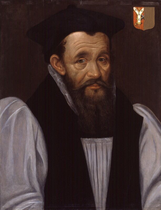 Richard Bancroft, by Unknown artist, after 1604 - NPG 945 - © National Portrait Gallery, London