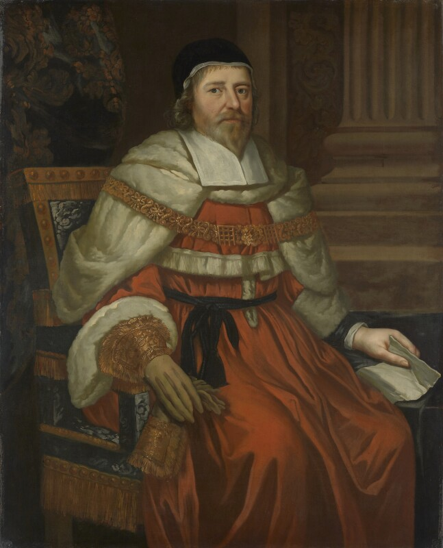 Sir John Bankes, Bt, possibly after Gilbert Jackson, based on a work of 1641 - NPG 1069 - © National Portrait Gallery, London