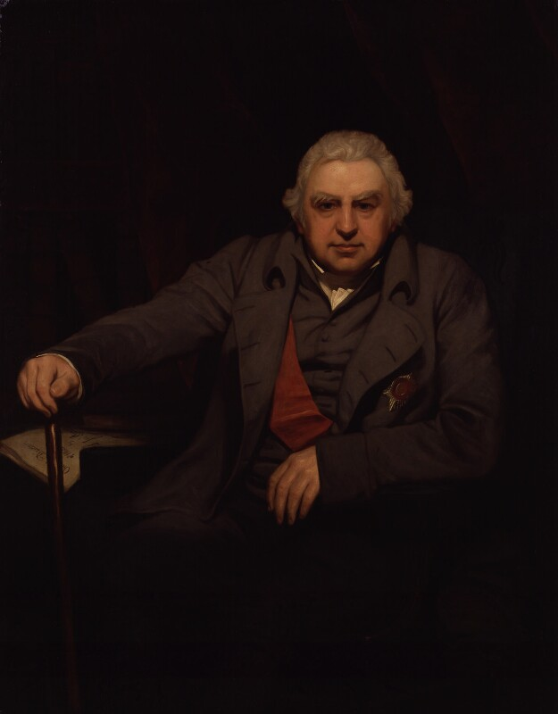 Sir Joseph Banks, Bt, by Thomas Phillips, 1810 - NPG 885 - © National Portrait Gallery, London