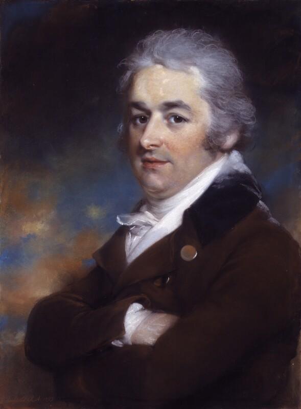 John Bannister, by John Russell, 1799 -NPG 1769 - © National Portrait Gallery, London