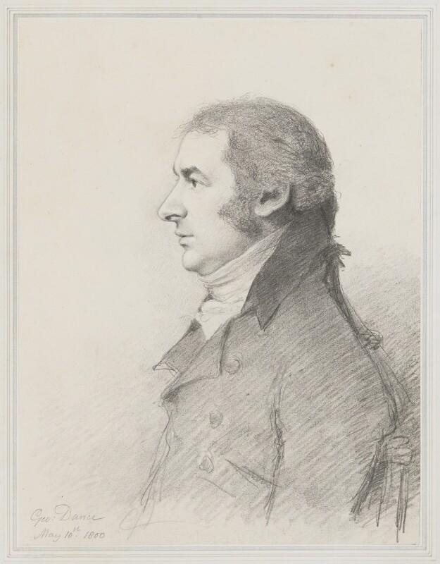 John Bannister, by George Dance, 1800 -NPG 1136 - © National Portrait Gallery, London