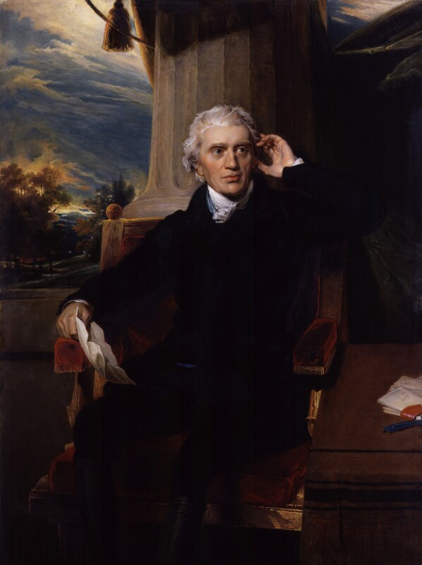 Sir Francis Baring, 1st Bt, by Charles Muss, after  Sir Thomas Lawrence, 1823 - NPG 1256 - © National Portrait Gallery, London