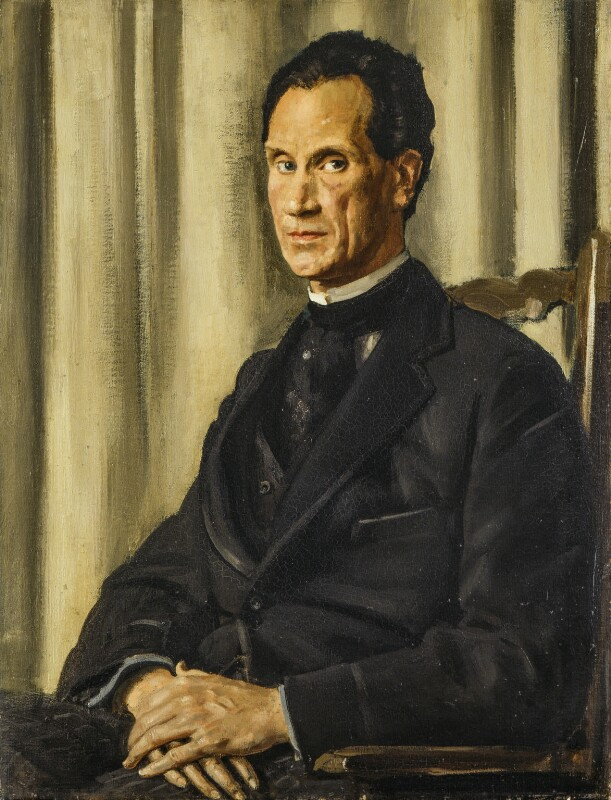 Sir Herbert Atkinson Barker, by Augustus John, 1916 - NPG 4189 - © National Portrait Gallery, London