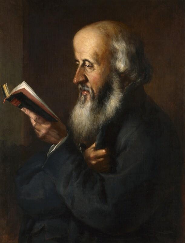 William Barnes, by George Stuckey, circa 1870 - NPG 3332 - © National Portrait Gallery, London