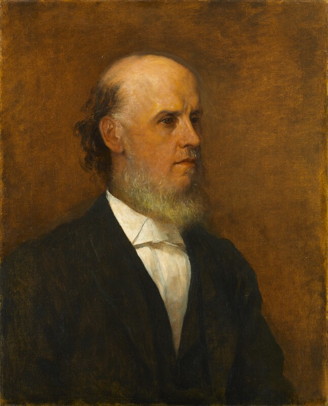 Samuel Augustus Barnett, by George Frederic Watts, 1887 - NPG 2893 - © National Portrait Gallery, London