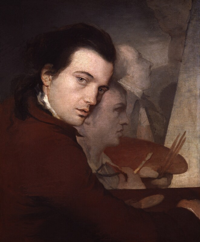 James Barry; Dominique Lefevre; James Paine the Younger, by James Barry, circa 1767 -NPG 213 - © National Portrait Gallery, London