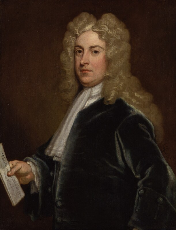 William Pulteney, 1st Earl of Bath, by Sir Godfrey Kneller, Bt, 1717 - NPG 3194 - © National Portrait Gallery, London