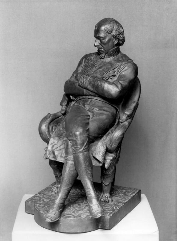 Benjamin Disraeli, Earl of Beaconsfield, by Lord Ronald Charles Sutherland-Leveson-Gower, 1878-1879 - NPG 652 - © National Portrait Gallery, London
