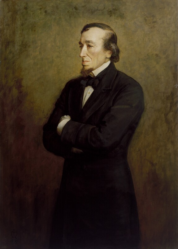 Benjamin Disraeli, Earl of Beaconsfield, by Sir John Everett Millais, 1st Bt, 1881 - NPG 3241 - © National Portrait Gallery, London
