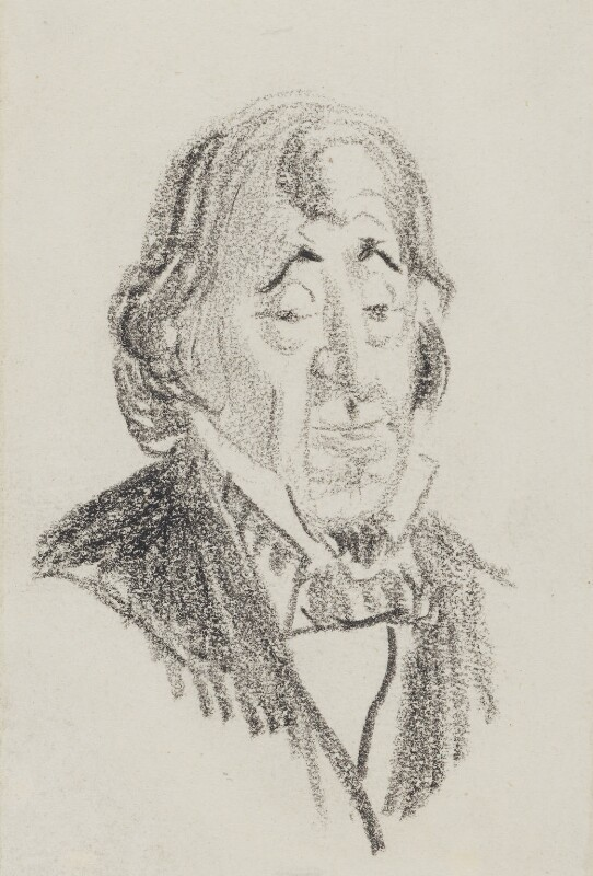 Benjamin Disraeli, Earl of Beaconsfield, by Randolph Caldecott,  - NPG 3031 - © National Portrait Gallery, London