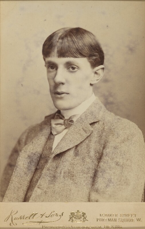 Aubrey Beardsley, by James Russell & Sons, circa 1890 -NPG P43 - © National Portrait Gallery, London