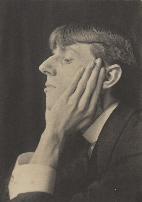 Aubrey Beardsley, by Frederick Henry Evans, circa 1894 - NPG P114 - © National Portrait Gallery, London