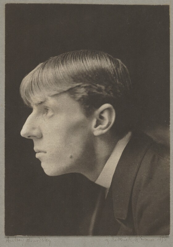 Aubrey Beardsley, by Frederick Henry Evans, 1894 - NPG P115 - © National Portrait Gallery, London