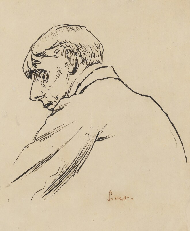 Aubrey Beardsley, by Walter Sickert, circa 1894 -NPG 1967 - © National Portrait Gallery, London