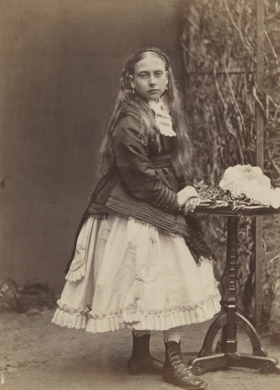 Princess Beatrice of Battenberg, by W. & D. Downey, 1868 - NPG P22(8) - © National Portrait Gallery, London