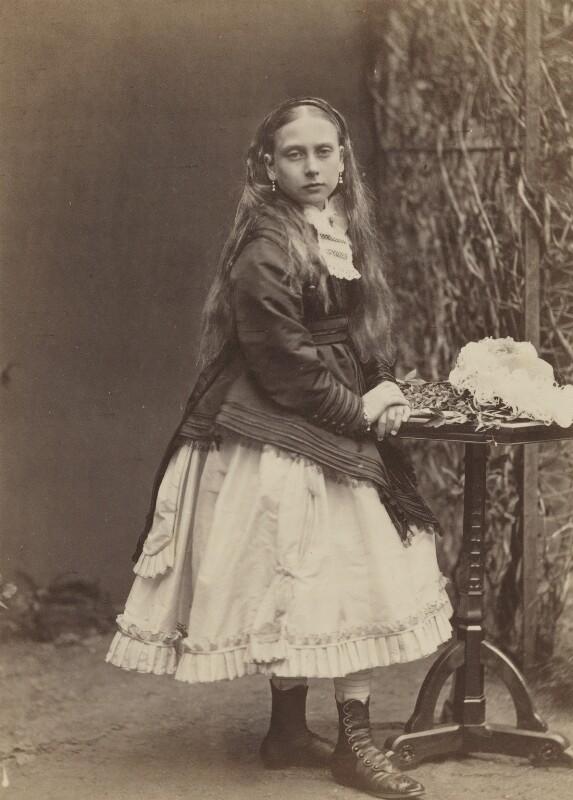 Princess Beatrice of Battenberg, by W. & D. Downey, 1868 - NPG P22(8) - © National Portrait Gallery, London
