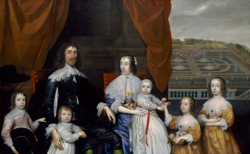 The Capel Family, by Cornelius Johnson (Cornelius Janssen van Ceulen), circa 1640 - NPG 4759 - © National Portrait Gallery, London