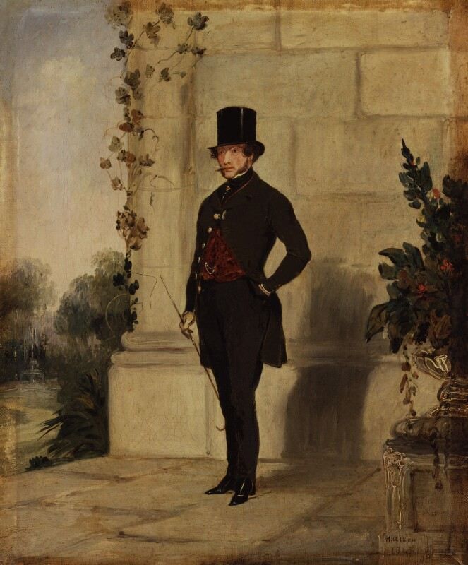 Henry Somerset, 7th Duke of Beaufort, by Henry Alken, 1845 - NPG 2806 - © National Portrait Gallery, London