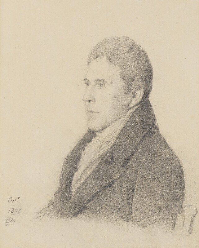 Sir George Howland Beaumont, 7th Bt, by George Dance, 1807 - NPG 1137 - © National Portrait Gallery, London