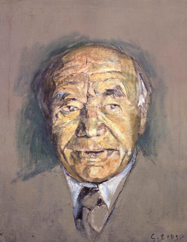 William Maxwell Aitken, 1st Baron Beaverbrook, by Graham Vivian Sutherland, 1952 - NPG 5195 - © National Portrait Gallery, London