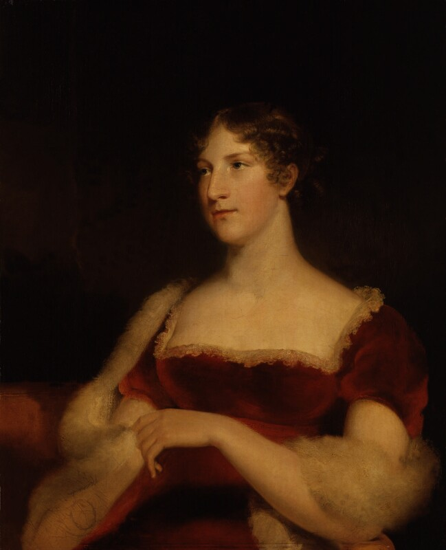 Elizabeth ('Eliza') (née O'Neil), Lady Wrixon-Becher, by John James Masquerier, circa 1815 - NPG 445 - © National Portrait Gallery, London