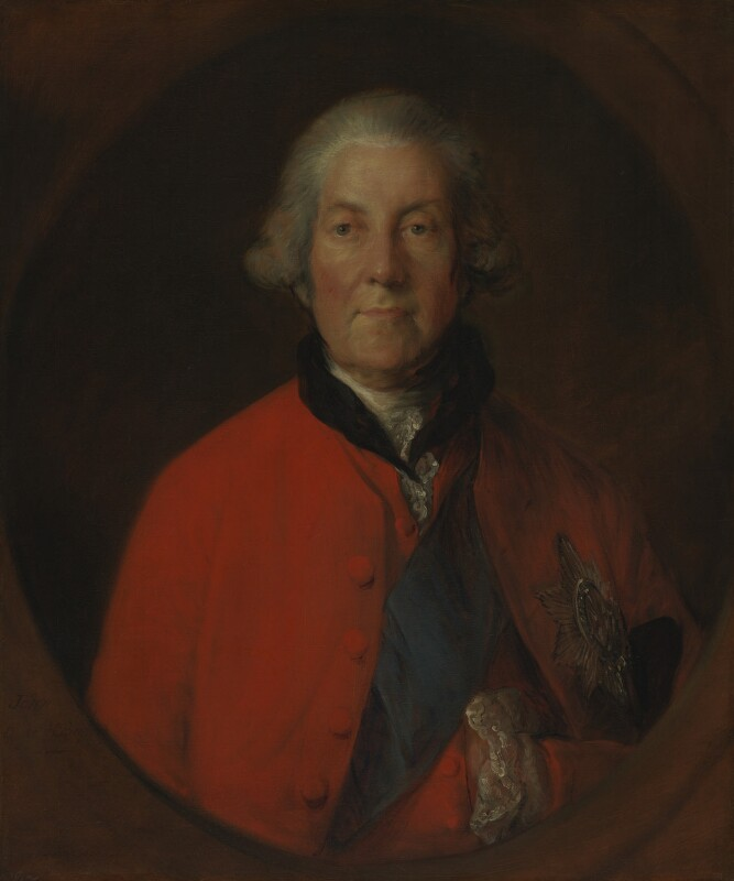 John Russell, 4th Duke of Bedford, by Thomas Gainsborough, circa 1770 - NPG 755 - © National Portrait Gallery, London