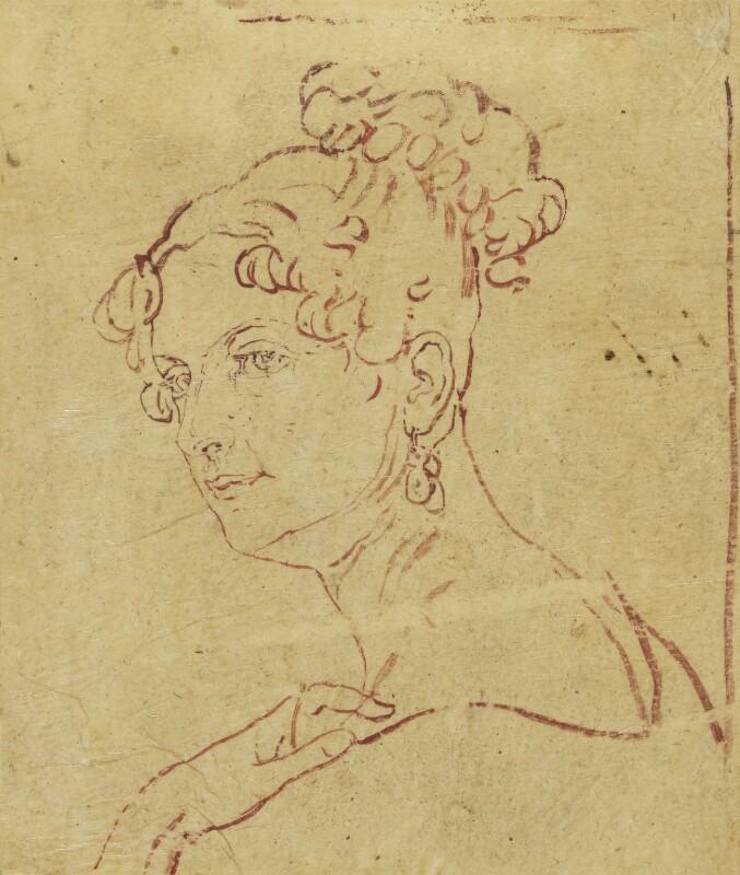 Georgiana Russell (née Gordon), Duchess of Bedford, after Sir George Hayter, circa 1820 - NPG 883(5) - © National Portrait Gallery, London